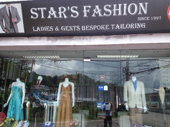 Cape Panwa, Tayland: Star's fashion