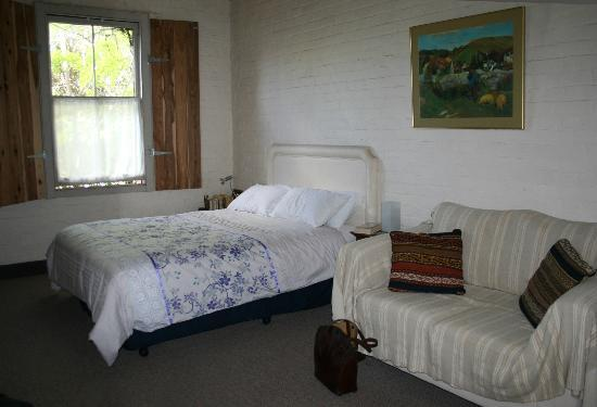 Accommodation in an Historic Warehouse: Our bedroom