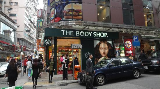 Park Hotel Hong Kong: Shopping area