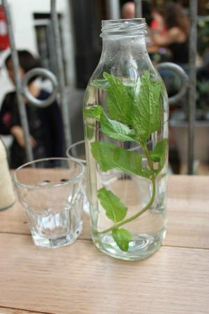 Tricycle Cafe: Minty Water