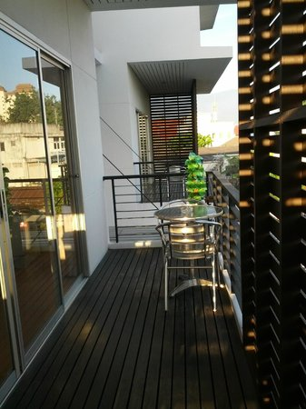 Studio 99 Serviced Apartments: Balcony