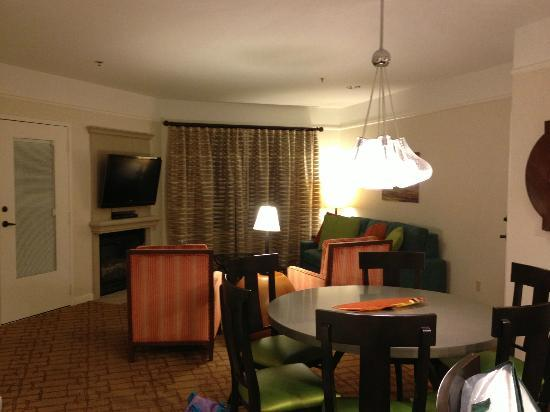 Marriott's Shadow Ridge: Main living area