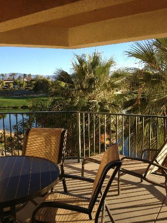 Marriott's Shadow Ridge I-The Villages: View from Balcony