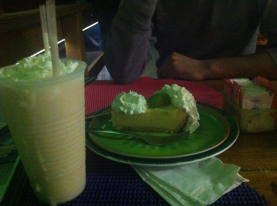Cathy's Beach Connection: key lime pie & pina colada