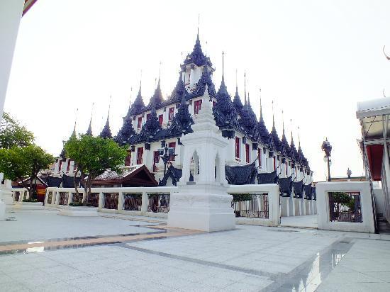 Wat Ratchanatdaram Woravihara (Loha Prasat): ratchanatdaram woraviharaa