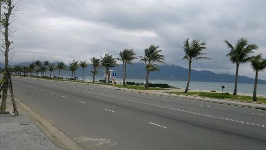 Danang, view opposite Mango Hotel