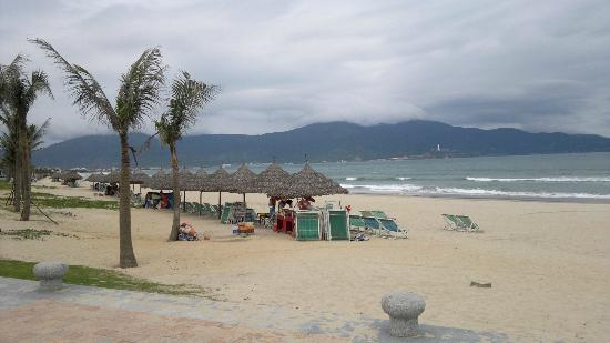 Danang,view from opposite Mango Hotel
