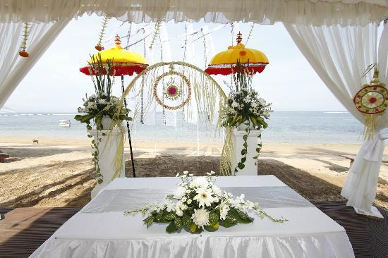 Griya Santrian: The Wedding ceremony site