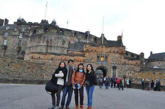 Edinburgh Castle, Marvelous architecture