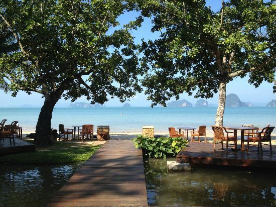 The Tubkaak Krabi Boutique Resort : Breakfast in Paradise