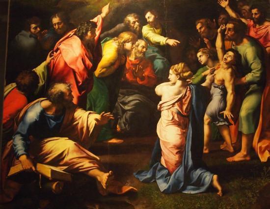 Museus Vaticanos: Raffaello-Giulio Romano, Trasfigurazione
