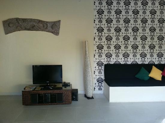Enigma Bali Villas: tv