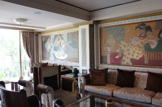 Sofitel Fes Palais Jamai: Nella hall di ingresso
