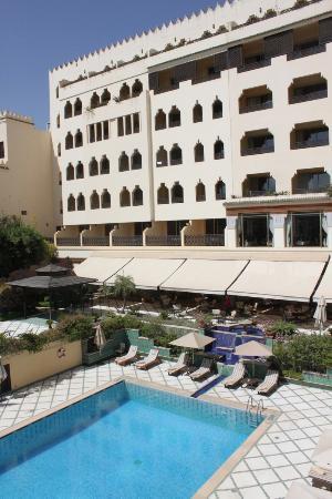 Sofitel Fes Palais Jamai: la vista dell'hotel dalla terrazza