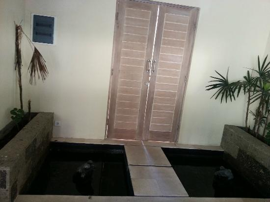 Enigma Bali Villas: the door to villa entrance