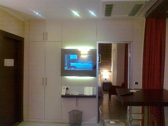 Best Western Plus Hotel Modena Resort : Soggiorno (TV)