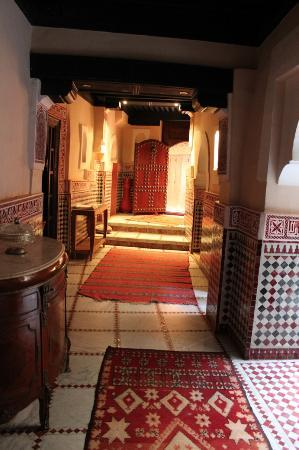 Riad d'Or: hall d ingresso
