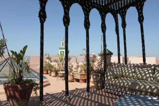 Riad d'Or: terrazzo