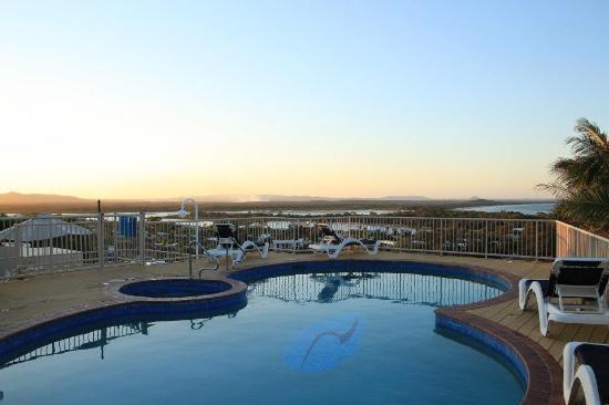 Noosa Crest: Rooftop pool