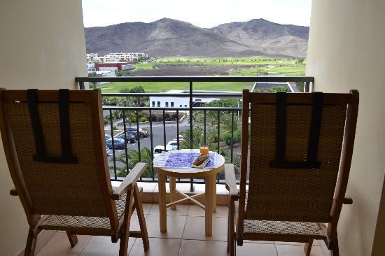Playitas Resort: Balkon