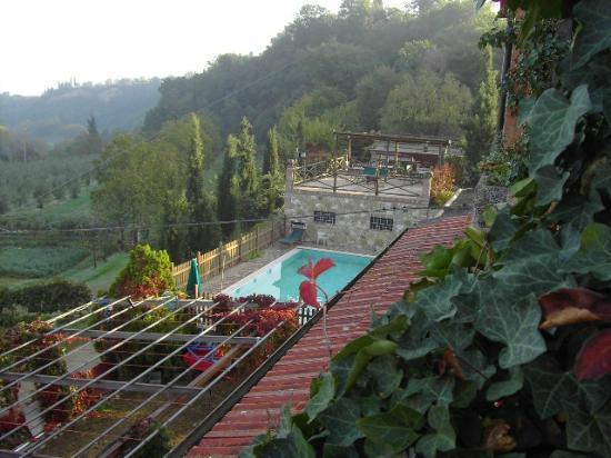Agriturismo La Pietriccia: la piscina