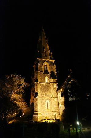 Brathay Lodge : Church at night