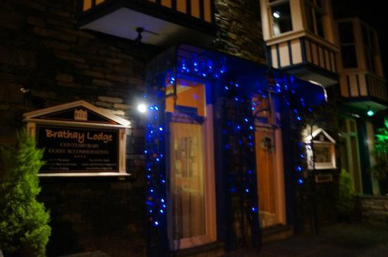 Night time at Brathay Lodge