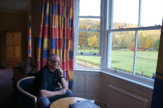 Brathay Lodge: enjoying the view