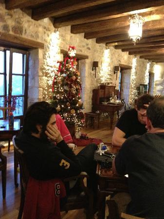 Villa Vager : σκάκι στο σαλόνι