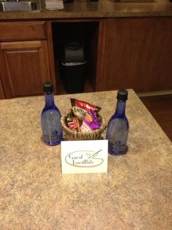 Hotel At WaterWalk: our gift basket