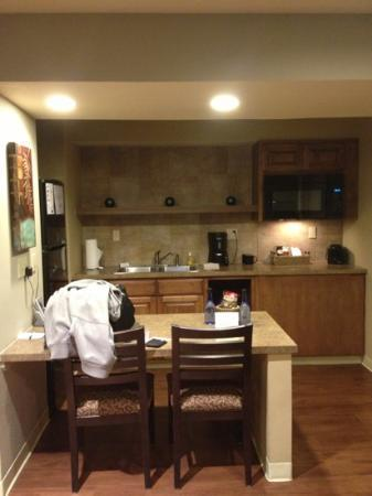 Hotel At WaterWalk: large kitchen area