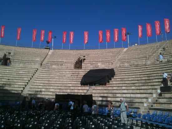 Theatre at Caesarea National Park: théâtre de caesare
