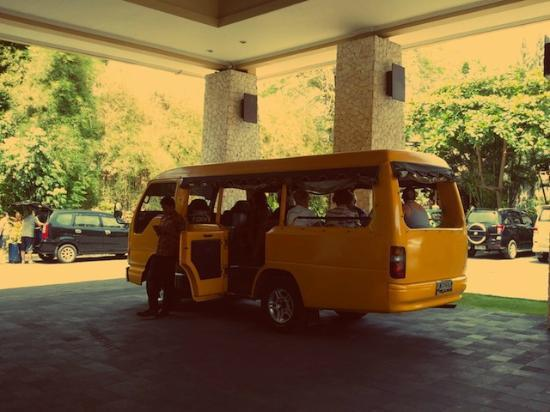 Mercure Resort Sanur: Shuttle bus for city travelling