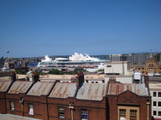 Sydney Harbour YHA: Vue sur l'Opéra
