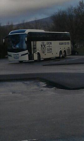 Loch Achray Hotel: our coach