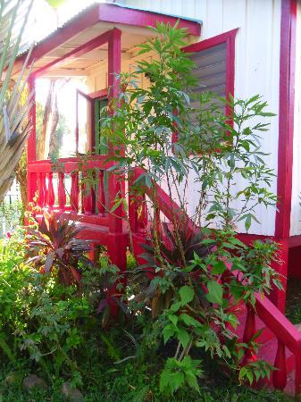 Garden Cabanas: Red Cabana
