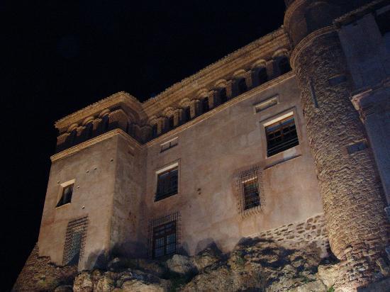 Hospederia Castillo Papa Luna: Exteriores