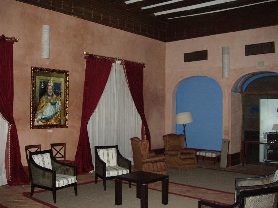 Hospederia Castillo Papa Luna : Salon