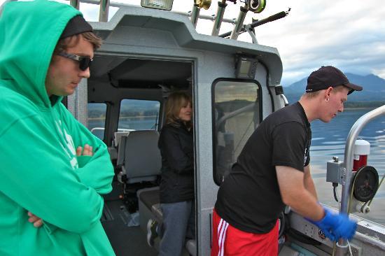 Van Isle Fishing and Marine Adventures : Awaiting the Catch