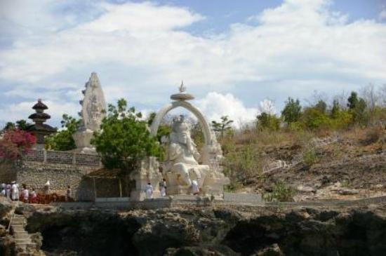 Menjangan Island: Ganesha Statue