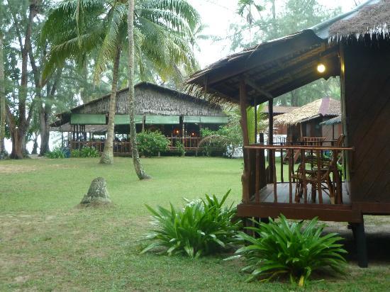 Sea Gypsy Village Resort & Dive Base: Blick zum Restaurant
