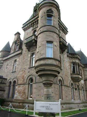 Cornhill Castle Hotel: fairytale turrets