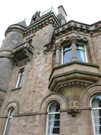 Cornhill Castle Hotel: a room with a view