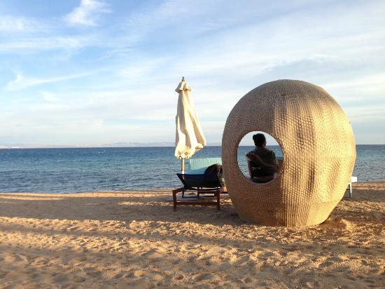 Le Meridien Dahab Resort: Beach pod