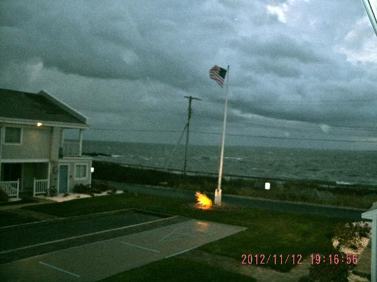 InnSeason Resorts Surfside: View off back deck on a stormy day