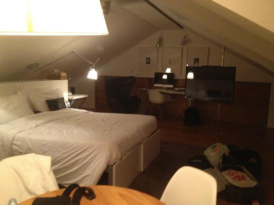 Brown's Boutique Hotel: Loft room