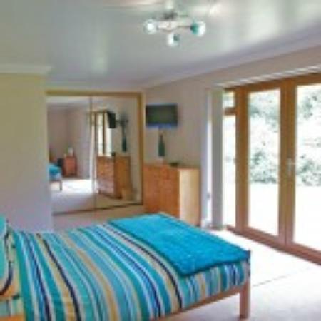 Jonti Bed and Breakfast Corfe Castle : Bedroom