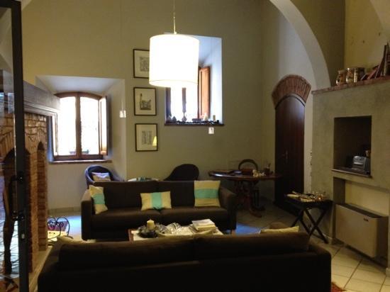 Albergo Duomo: the lounge