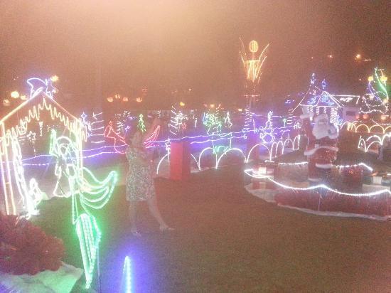 Ita, SC: iluminação natalina