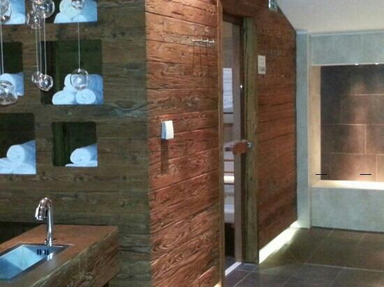 Hotel Der Schutthof: sauna area